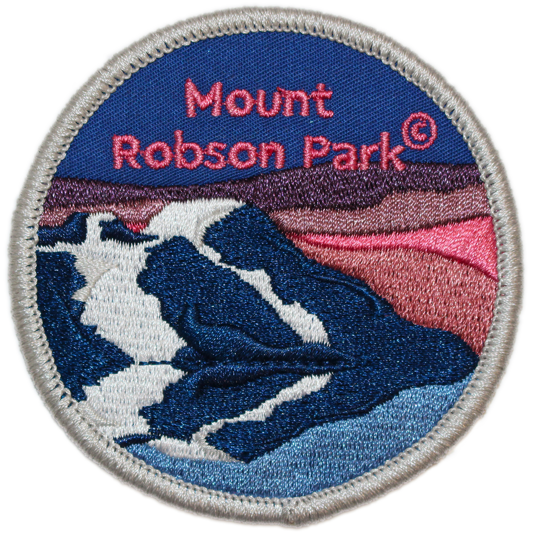 BC Parks Foundation Mount Robson Park patch
