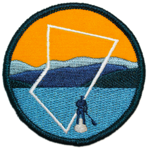 BC Parks Foundation paddleboarding patch