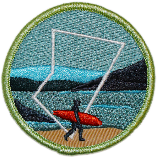BC Parks Foundation surfing patch