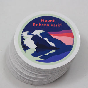 Mount Robson Park Sticker