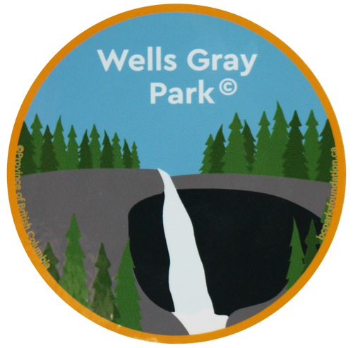 Wells Gray Park Sticker