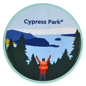 Cypress Park Sticker
