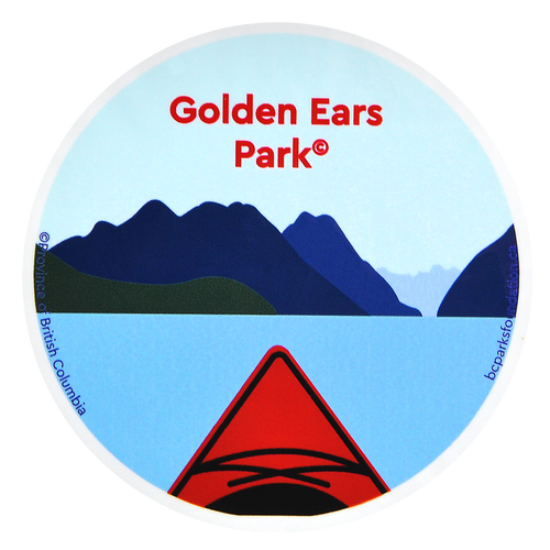 Golden Ears Park Sticker
