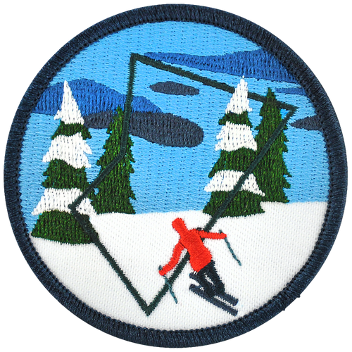 Skiing Patch
