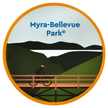 Load image into Gallery viewer, Myra-Bellevue Park Sticker