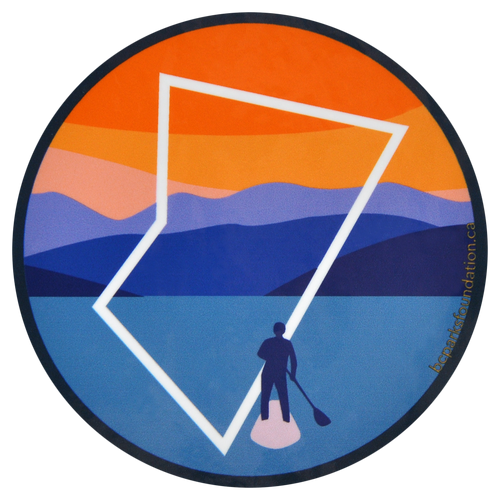 Paddleboarding Sticker