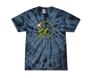 BT Space Rocket Tie Dye Shirt