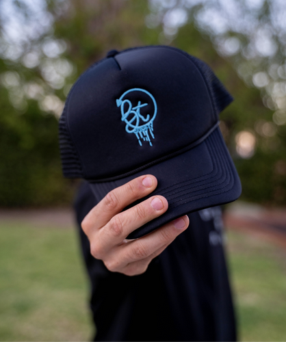 BT Drip Embroidered Trucker Hat