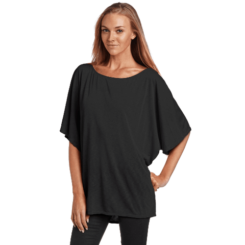 Michael Stars Women's Short Sleeve Off Shoulder Dolman Shirt