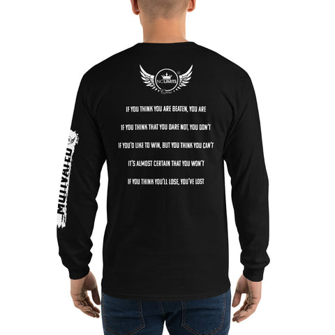 Your Thoughts Become Reality | Long Sleeve T-Shirt | No Limits Crew - No Limits Crew