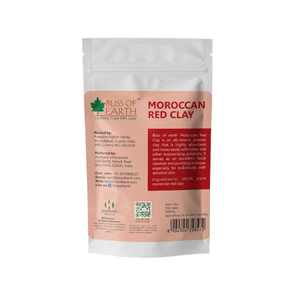 Moroccan Red Clay 100GM