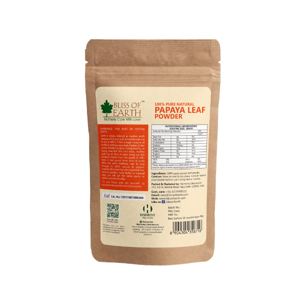 Papaya Leaf Powder 100GM