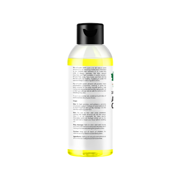 100% Natural Pure Sweet Almond Oil 100ML