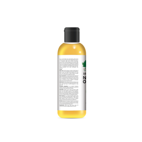 100% Natural Pure Neem Oil 100ML