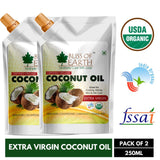 Certified Organic Virgin Coconut Oil (2X250ML)