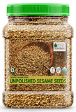 USDA Organic Sesame Seeds Raw Unpolished 600GM