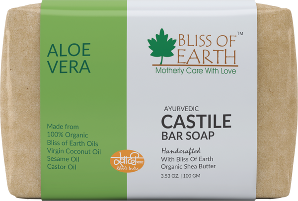 Aloe Vera Castile Bar Soap 100GM
