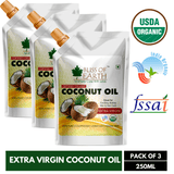 Certified Organic Virgin Coconut Oil (3X250ML)