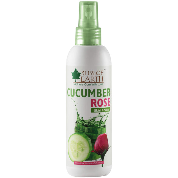 Alcohol Free Cucumber Rose Toner 100ml