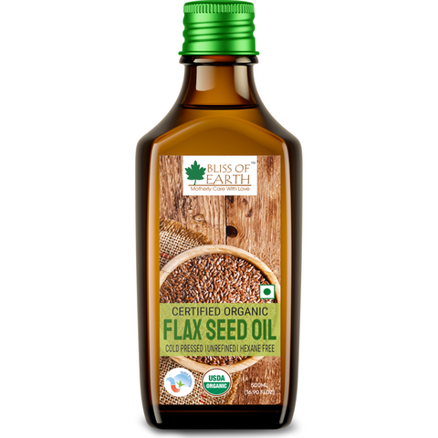 Certified Organic Flaxseed Oil 500ML
