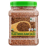USDA Organic Raw Flax Seeds (Alsi Seed)  600 gm