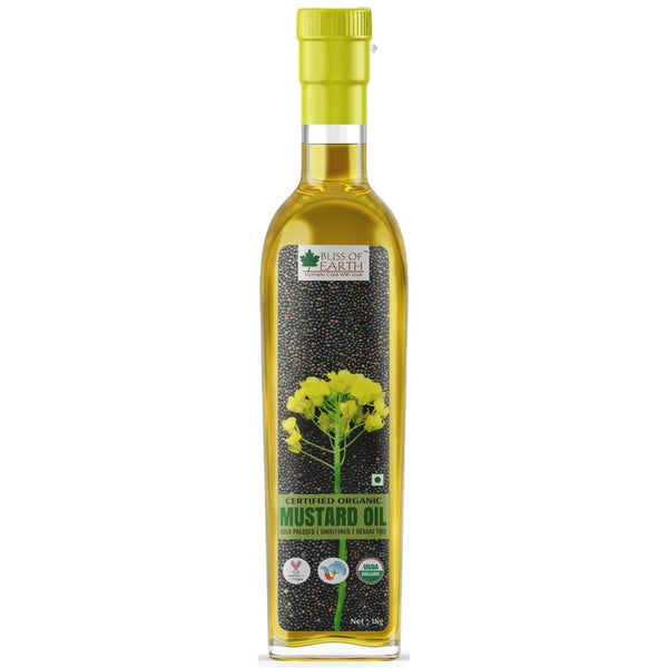 USDA Organic Black Mustard Oil 1 ltr
