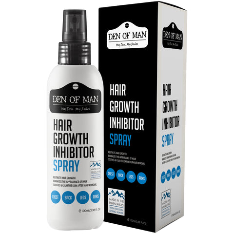 Den of Man Hair Growth Inhibitor Spray 100ML