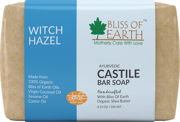 Witch Hazel Castile Bar Soap 100GM