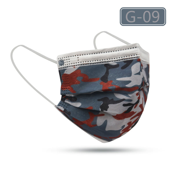 MERRYLIFE Galaxy Disposable Ear-loop Face Mask