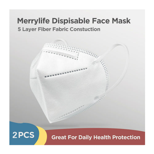 KN95 Disposable Face Mask 2Pcs