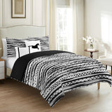 Herringbone Duvet Cover Set 5 Pieces - Merrylife