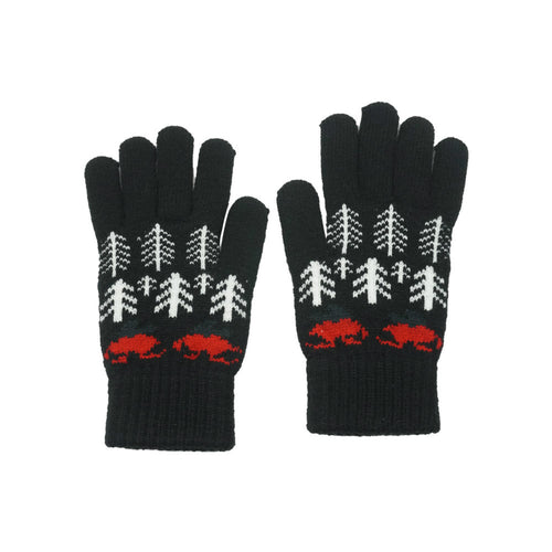 Knit Christmas Gloves