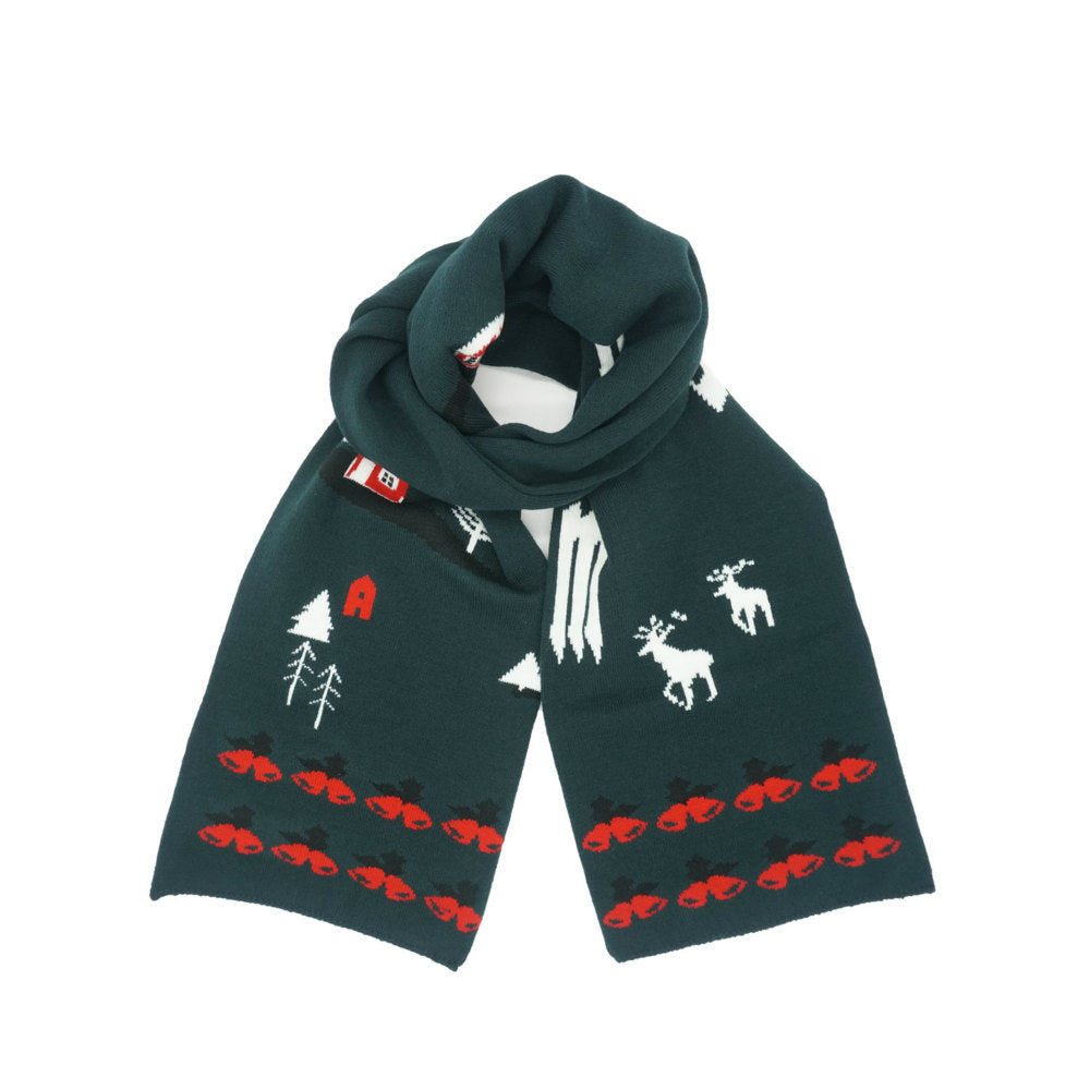 Knit Christmas Scarf - Merrylife