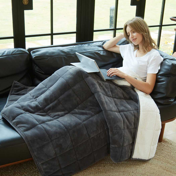 Merrylife® Weighted Cozy Throw