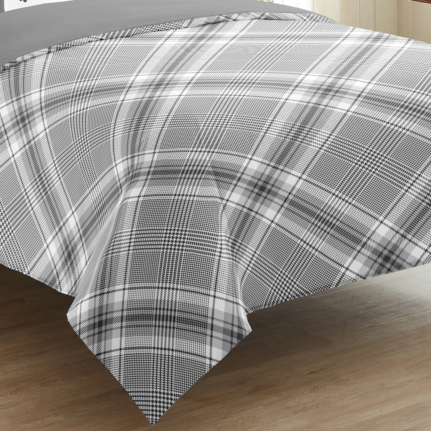 Checkerboard Duvet Cover Set 5 Pieces - Merrylife