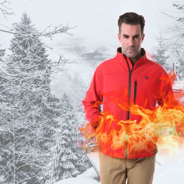 Merrylife®️ Men Heated Jacket