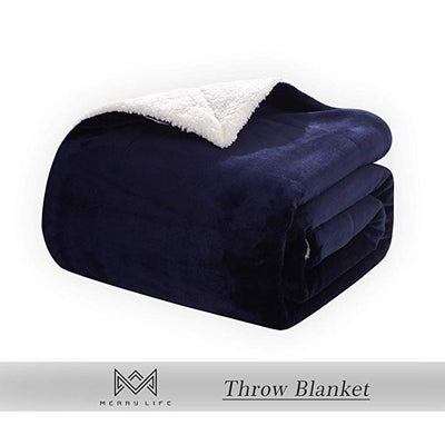 Sherpa Throw Blanket - Ultra-Plush Comfort