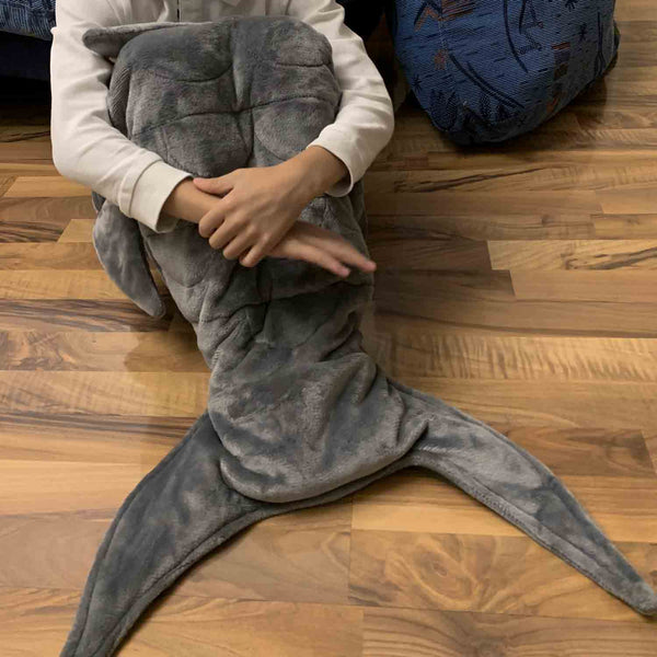 Merrylife® Mermaid & Shark Weighted Blanket for Kids ( Pre-order )