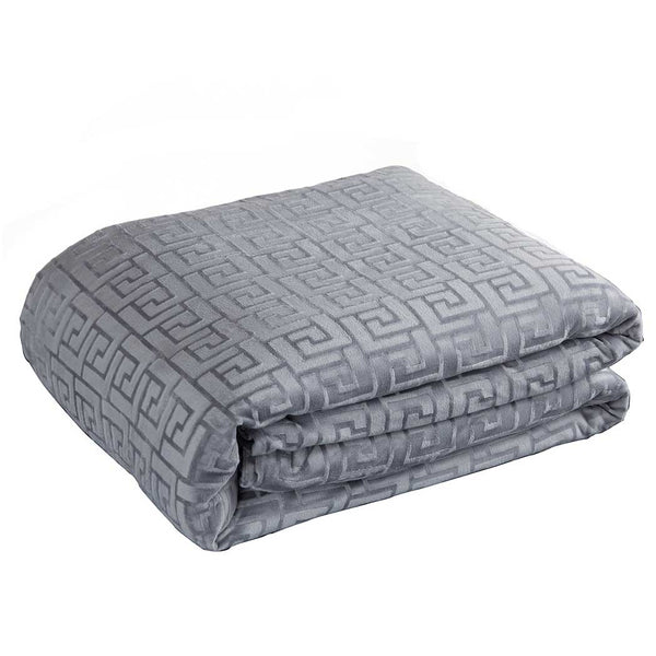 weighted blanket cover grey