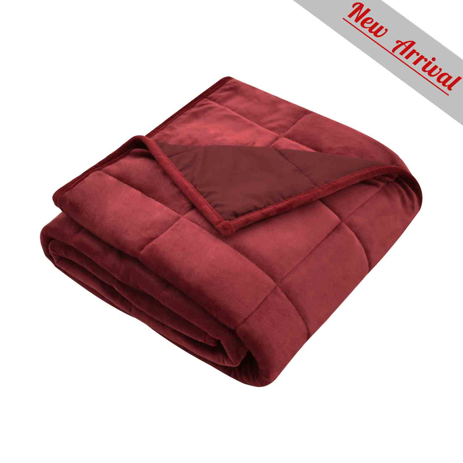 MERRYLIFE Weighted Blanket Double-sided colors - Merrylife