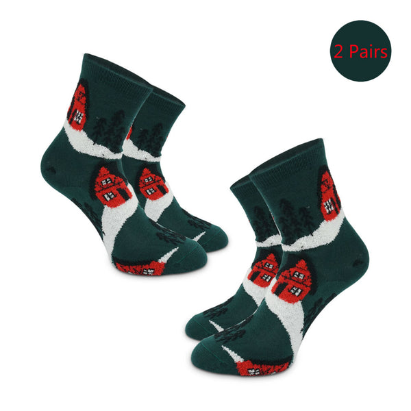Kids Xmas Socks