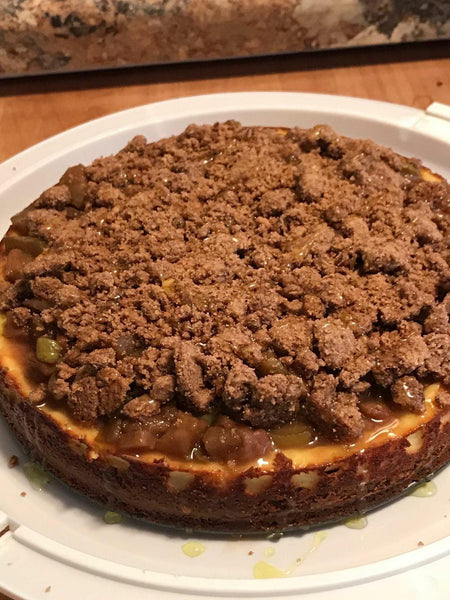 Keto Peachy Cheesecake Crumble