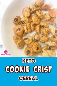 Keto Cookie Crisp Cereal