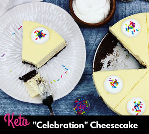 "Keto ""Celebration"" Cheesecake"
