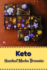 Keto Hazelnut Mocha Brownie