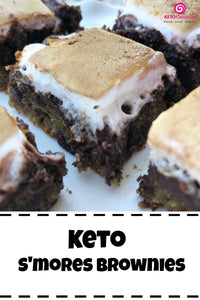 Keto S'mores Brownies