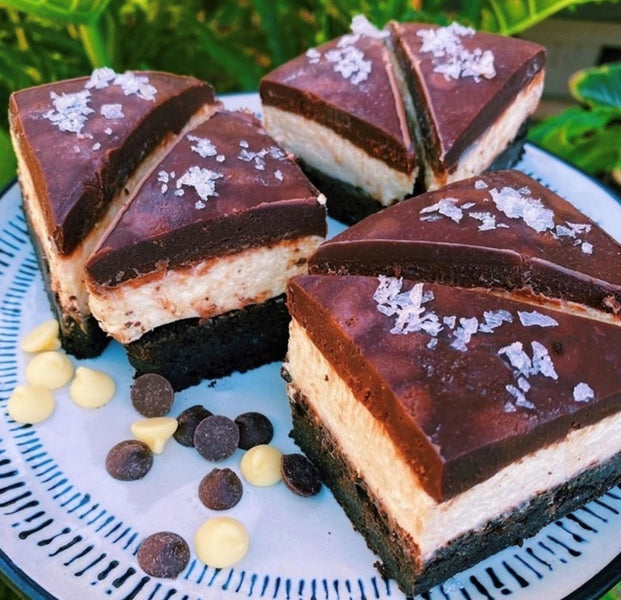KETO Cheesecake Brownies