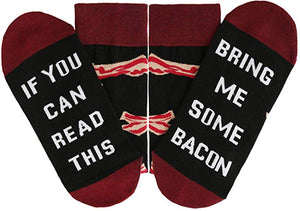 Bring Me Bacon socks