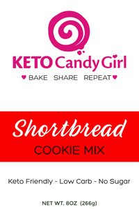 Keto Shortbread Cookie Mix