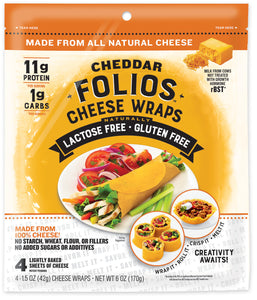 Folios Cheese Wraps (In Store Only)